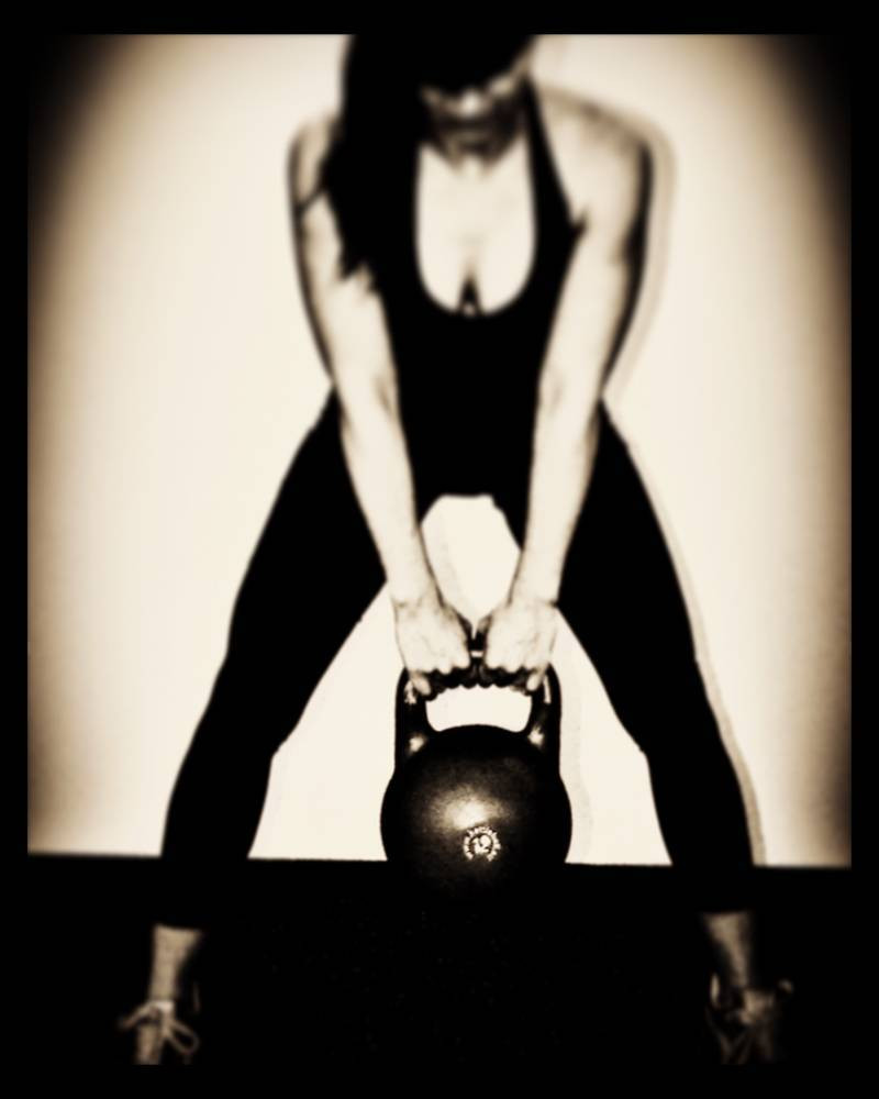 Kettlebell Training und Personal Training im radiuszwei physiotherapie & pilates Oberwil