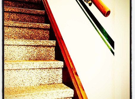 Machst Du Sport? - Ich nehme die Treppe…