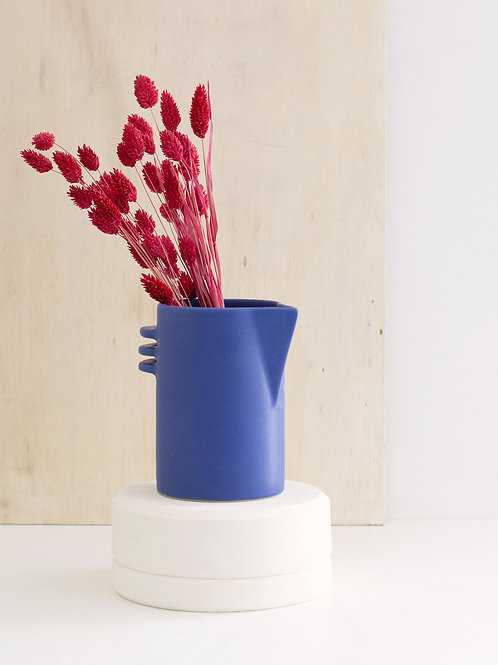 Pichet Athéna Bleu | Anse horizontale