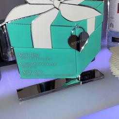 Tiffany & Co Inspired Acrylic Bar Menu