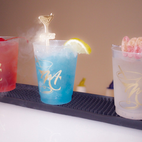 Signature Cocktails w/ Custom Cups