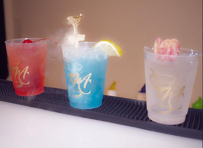 Signature Cocktails w_Custom Cups