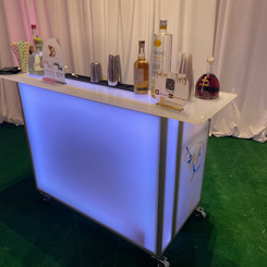 Large LED Portable Bar (Front can be cus