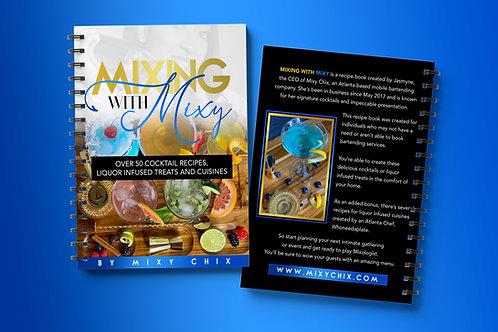 Mixing with Mixy 'Recipe Book'