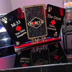 Custom Bar Menu