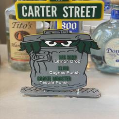 Custom Acrylic Menu