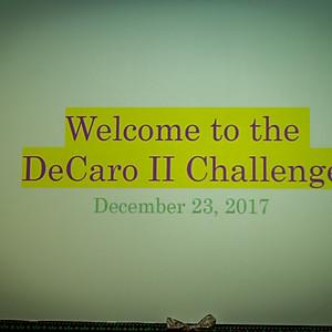 The DeCaro Challenge
