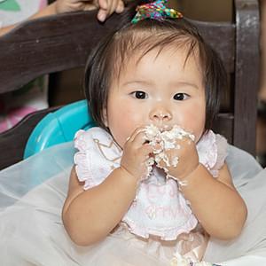 Rhea's 1st Birthday Party