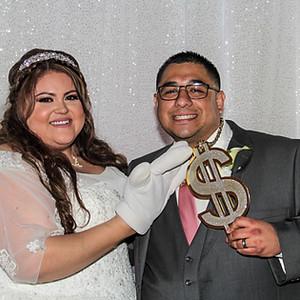 David & Darlene's Wedding (Photo Booth)