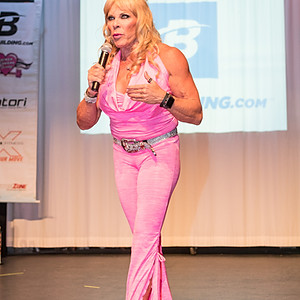 Lauren Powers Body Building Competition