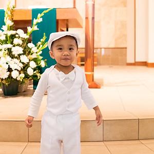 Zane's Baptism