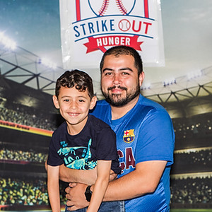 Strike Out Hungry event