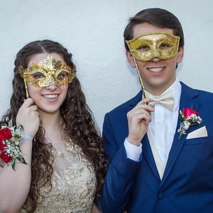 Rebecca and Race / Sonora Masquerade Ball