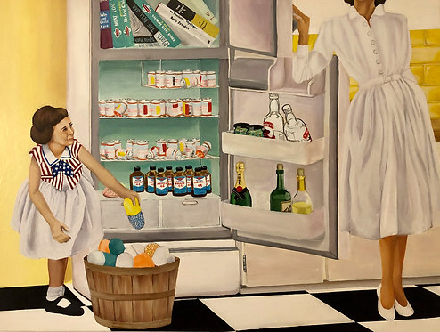 "Mommy's Little Helper - 7.5 x 10 "" Print"
