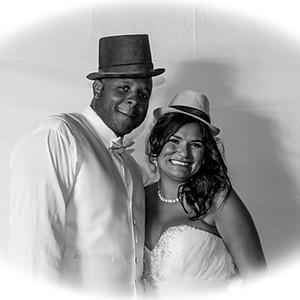 Marcus & Serena Jones Wedding / Photo Booth