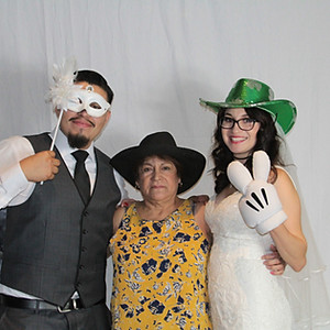 Greg & Deysi Mayorga Wedding Photo Booth
