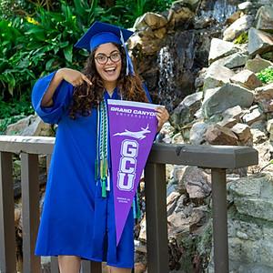 Olivia's Grad Portrait