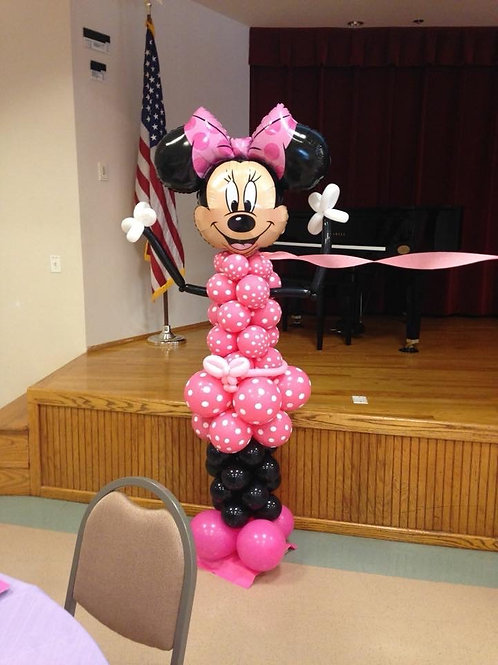 Minnie Mouse Balloon Figure