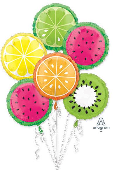 BOUQUET TROPICAL FRUIT watermellon, Lemon, orange, Kiwi