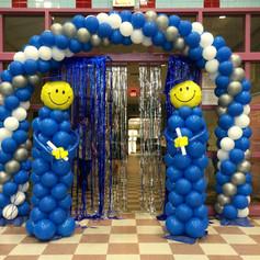 Graduate Balloon Column