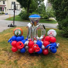 10th birthday Display sports
