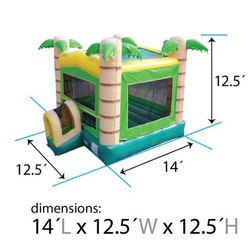 inflatable-bounce-house-tropical-modular