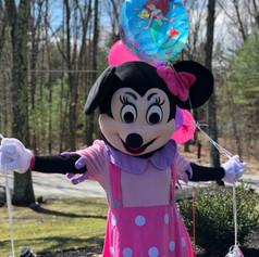 minnie mouse visit birthday