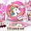 Thumbnail: Unicorn Party Supplies 160 Set Birthday Decorations Tablecloth Backdrop Balloons