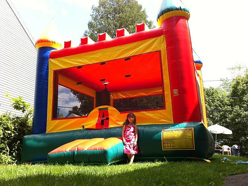 15x15 castle bounce house