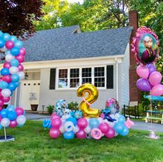 Frozen Balloon Decor Display