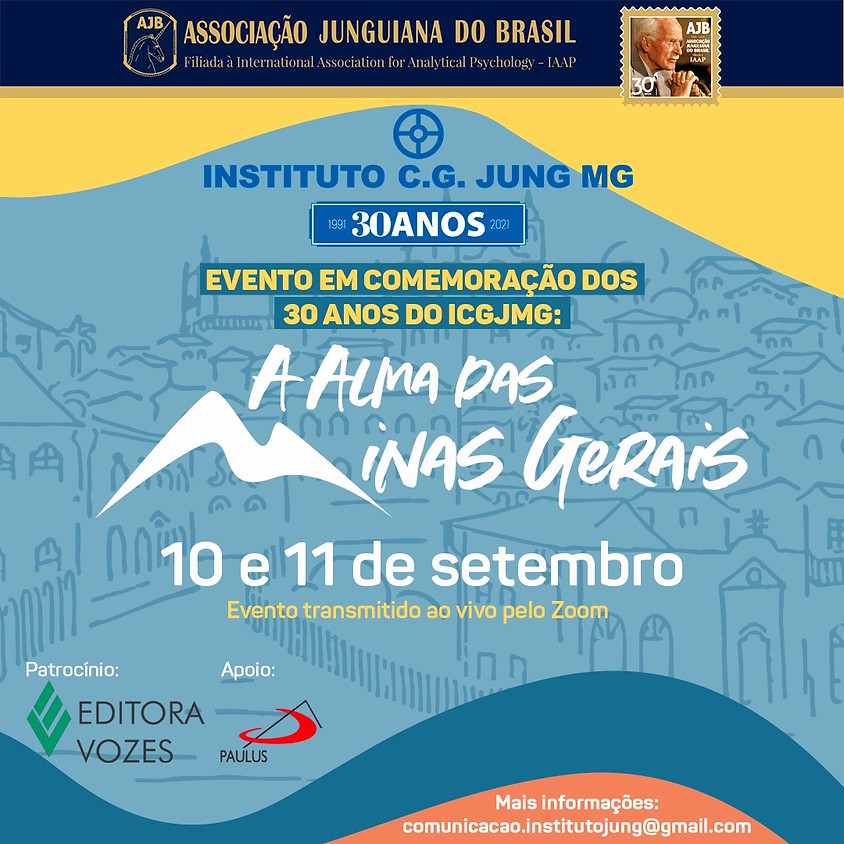 Evento em comemoração dos 30 anos do Instituto C.G. Jung MG - ICGJMG