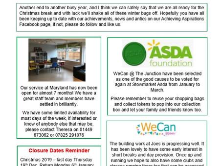 The WeCan Winter Newsletter