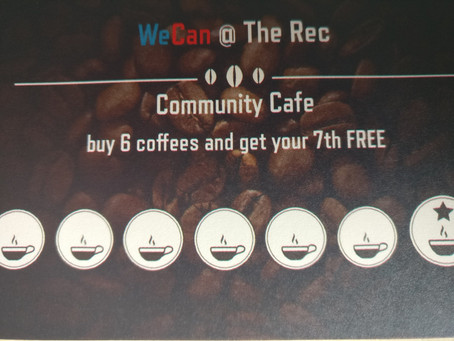 Loyalty cards Cafe@the Rec