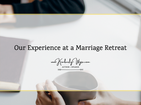 Our Experience at a Marriage Retreat