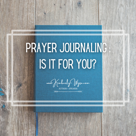 Prayer Journaling: Is It For You?