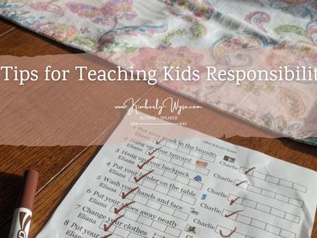 3 Tips for Teaching Kids Responsibility