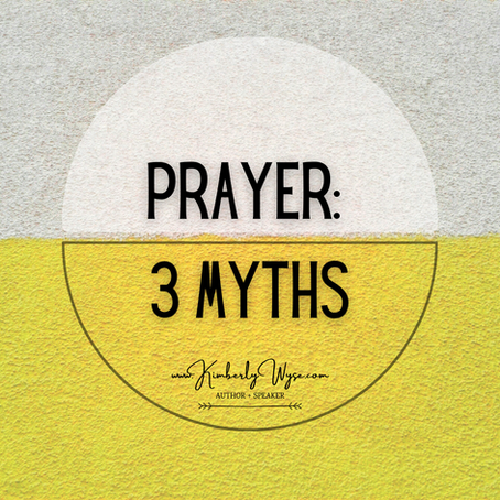 Prayer: 3 Myths