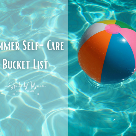 Summer Self-Care Bucket List
