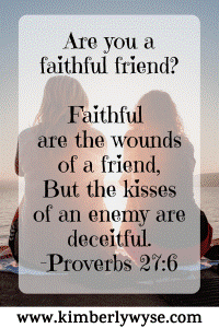 The Gift of a Faithful Friend