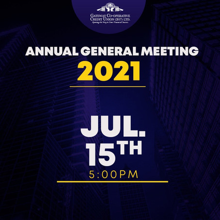 Join us on July 15th for the 4th Gateway Annual General Meeting!