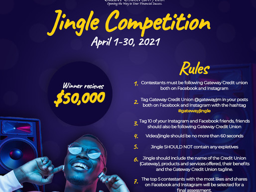 Join Gateway's Jingle Competition and WIN $50,000!
