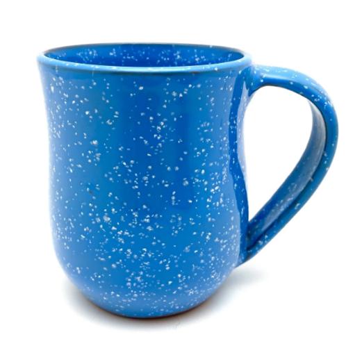 Handmade Mug - Electric Blue Sprinkles