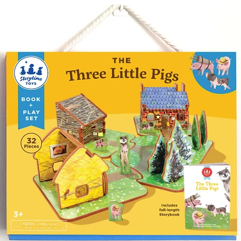 Storytime Toys: The Three Little Pigs