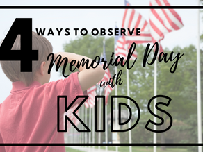 Teach the Meaning of Memorial Day