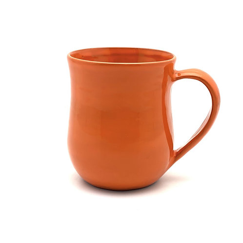 Handmade Mug - Bright Orange