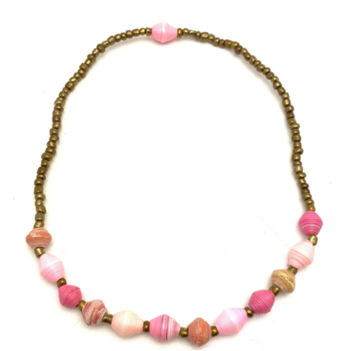 Sweetheart Necklace - Pink