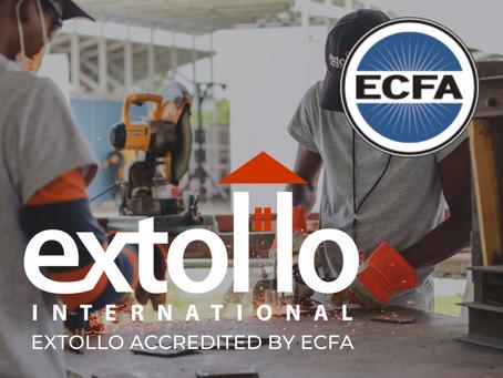 Extollo Accredited by ECFA