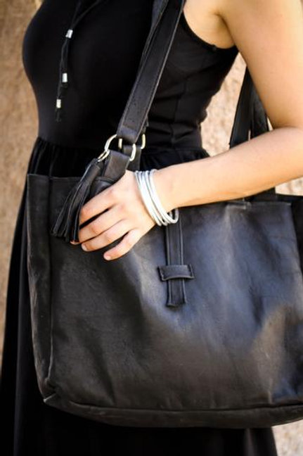 Black Sheep Leather Tote