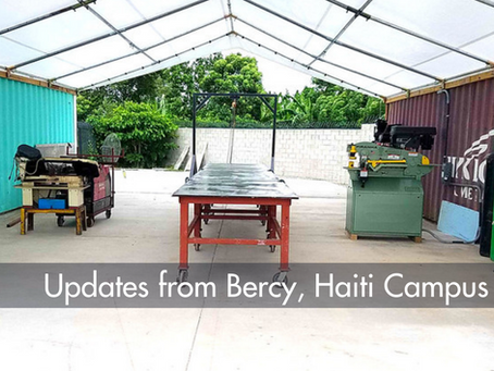 Update from Bercy, Haiti Campus