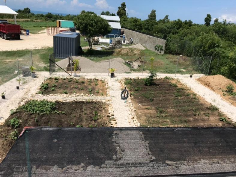Garden at Extollo Training Center